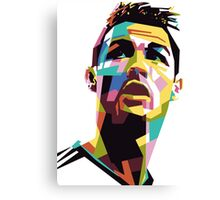 CR7 art Canvas Print