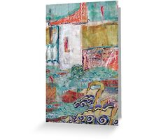 Les Plongeurs Greeting Card