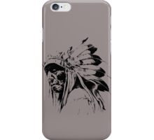 indian apache iPhone Case/Skin