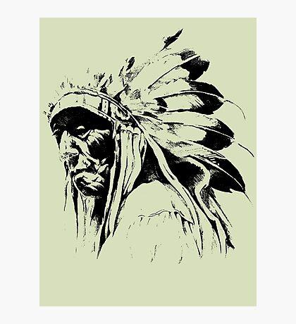 indian apache Photographic Print