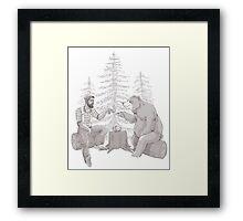 Gentleman's Tea - Sketch Framed Print