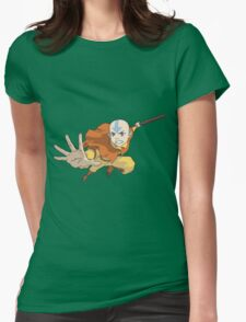Airbending Is A Hobby Womens Fitted T-Shirt