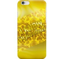 Cool Golden Case iPhone Case/Skin