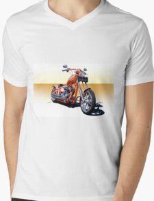2004 H.D. 'Daddy's Dream' Chopper I Mens V-Neck T-Shirt