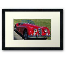 1957 Jag Framed Print