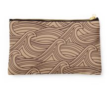 Natural Wave Water Pattern Studio Pouch