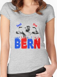 Feel the Bern Women's Fitted Scoop T-Shirt