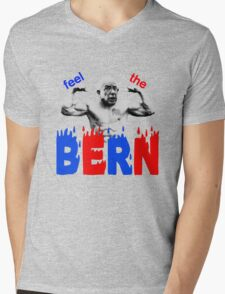 Feel the Bern Mens V-Neck T-Shirt