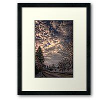 Kinkade Framed Print