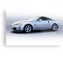 2008 Nissan Z350 Sports Coupe Metal Print
