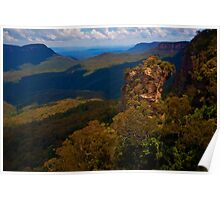 101230 Blue Mountains Jamison Valley  Poster
