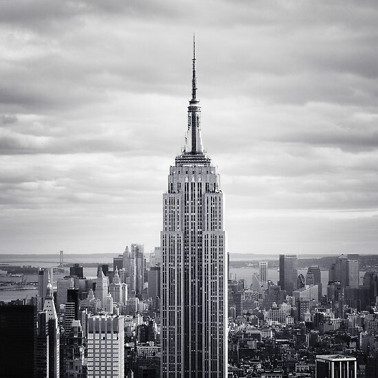 Empire State Building by Nina Papiorek
