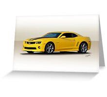 2014 Chevrolet Camaro Greeting Card