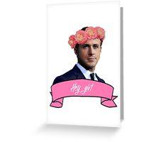 Ryan and Roses Greeting Card
