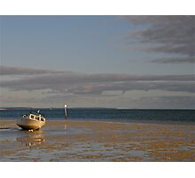 Monkey Mia Tide is Out Photographic Print