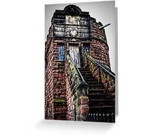 King Charles's Tower in Chester   Greeting Card