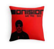 We're So Emo Charlie Throw Pillow