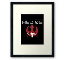 Red Squadron 05 Framed Print