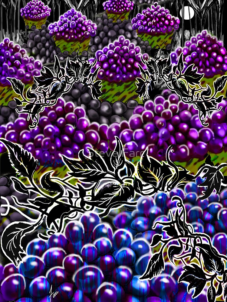"""Night Of The Groovy Grapes"" by Steve Farr"