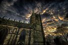 Dusk At Loughborough Church by Yhun Suarez