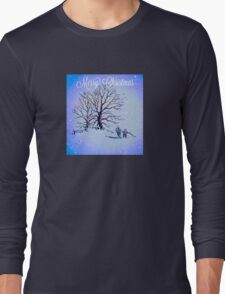 GOING HOME FOR CHRISTMAS Long Sleeve T-Shirt