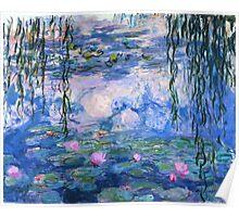 Monet Lilies Poster