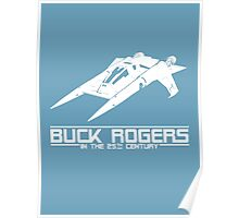 Buck Rogers In The 25th Century Spacecraft Sci Fi Tshirt Poster