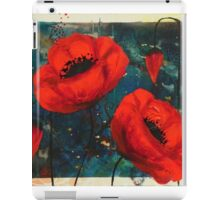 Poppies: courage iPad Case/Skin