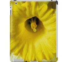 What the bee see's iPad Case/Skin