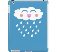 Kawaii Cloud Raindrops T Shirt iPad Case/Skin