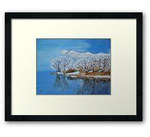 Deer Creek Reservoir/Utah Framed Print
