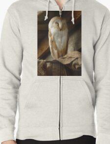 Barn Owl Sleeping T-Shirt