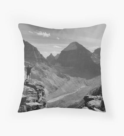 Just Awesome! (BW) Throw Pillow