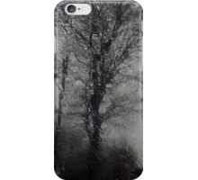 Looking through the window at the rain iPhone Case/Skin