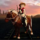 Little Cowgirl by Sherryll  Johnson