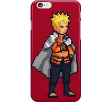 Naruto Hokage - Pixel Art iPhone Case/Skin
