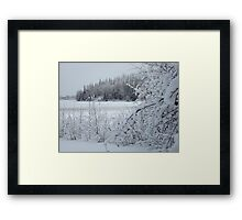 After the snowstorm Framed Print