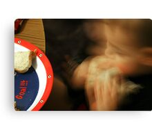 Speed Eater Canvas Print