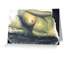 Nude Figure Greeting Card