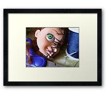 01-03-11 Operating Supplies Framed Print