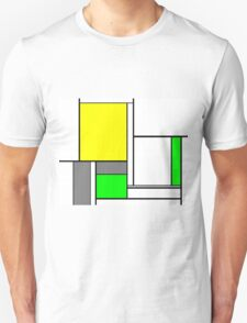 Faux Mondrian August T-Shirt