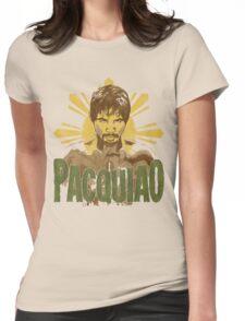 Pacquiao (SUN) Womens Fitted T-Shirt