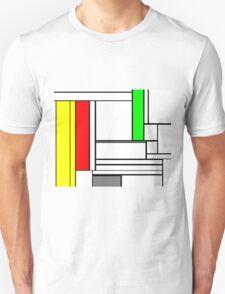 Faux Mondrian February T-Shirt
