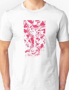 Shattered Distortion (Negative Pink) T-Shirt