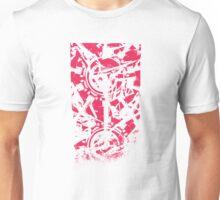 Shattered Distortion (Negative Pink) Unisex T-Shirt