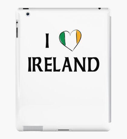 I Love Ireland iPad Case/Skin