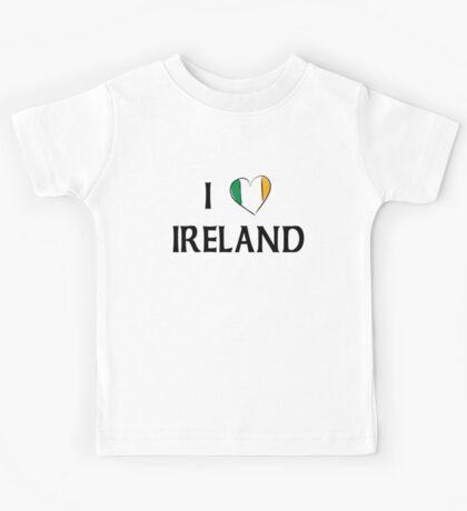 I Love Ireland Kids Tee