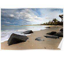 Seascape #9 - Mayfield Beach, Tasmania Poster