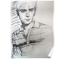 BLUR: Damon Albarn Portrait Poster