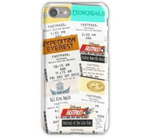 Animal Kingdom fastpass phone case iPhone Case/Skin